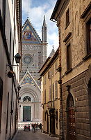 Hilltown of Orvieto in Umbria, Italy