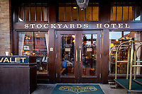 Fort Worth&rsquo;s legendary Stockyards Hotel has been welcoming guests since first opening its doors over 100 years ago in 1907. The spacious lobby of the Stockyards Hotel is beautifully appointed with comfortable furniture, antiques, and objet d&rsquo;art that create an elegant Old West ambience.<br /> <br /> Cowboys and cattle barons, kings and queens of country music, even an outlaw or two have found refuge and romance at the Stockyards Hotel. Patrons have journeyed from near and far by foot, horseback, stagecoach, motorcar and plane to enjoy the incomparable hospitality of this premier hotel.<br /> <br /> The Fort Worth Stockyards celebrate Fort Worth's long tradition as a part of the cattle industry and they were listed on the National Register as a historical district in 1976. The Stockyards consist of mainly entertainment and shopping venues that capitalize on the &quot;Cowtown&quot; image of Fort Worth. Home to the famous boot making company M.L. Leddy's which is located in the heart of the Stockyards.  The Fort Worth Stockyards are the last standing stockyards in the United States. Some volunteers still run the cattle drives through the stockyards.