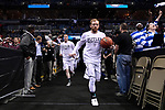 MILWAUKEE, WI - MARCH 18: Butler Bulldogs players enter the arena during the 2017 NCAA Men's Basketball Tournament held at BMO Harris Bradley Center on March 18, 2017 in Milwaukee, Wisconsin. (Photo by Jamie Schwaberow/NCAA Photos via Getty Images)