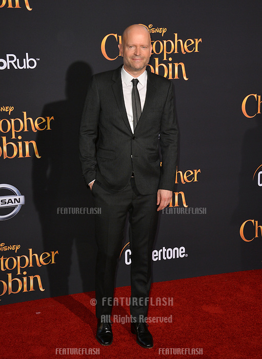 Marc Forster at the world premiere of Disney's &quot;Christopher Robin&quot; at Walt Disney Studios, Burbank, USA 30 July 2018<br /> Picture: Paul Smith/Featureflash/SilverHub 0208 004 5359 sales@silverhubmedia.com