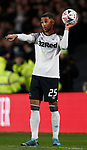 Max Lowe of Derby County during the FA Cup match at the Pride Park Stadium, Derby. Picture date: 5th March 2020. Picture credit should read: Darren Staples/Sportimage