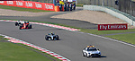 15.04.2018, Shanghai Audi International Circuit, Shanghai, 2018 FORMULA 1 HEINEKEN CHINESE GRAND PRIX, 12.04. - 15.04.2018<br /> im Bild<br />Safety Car, Valtteri Bottas (FIN#77), Mercedes AMG Petronas Formula One Team, Sebastian Vettel (GER#5), Scuderia Ferrari, Charles Leclerc (MCO#16), Alfa Romeo Sauber F1 Team<br /> <br /><br /> <br /> Foto &copy; nordphoto / Bratic