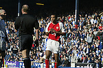 Thierry Henry of Arsenal Blackburn Rovers v Arsenal - Premier League - Ewood Park Stadium - Blackburn - 15th March 2003 - Pics Simon Bellis