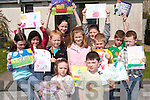 ARTISTIC: Winners of the Easter Art Competition from Connect 7 at Balloonagh Estate, Tralee, on Thursday. Front: Tara Byrne and Brian Teahan. Back l-r: Clodagh Byrne, Rebecca Daly, Rachel Quirke, Sarah OShea, Christine Mortimer, Gavin OShea, Jason and Sean Mortimer and Michael Flynn..