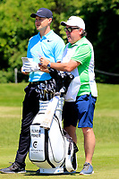 Oliver Fisher (ENG) during the second round of the Lyoness Open powered by Organic+ played at Diamond Country Club, Atzenbrugg, Austria. 8-11 June 2017.<br /> 09/06/2017.<br /> Picture: Golffile | Phil Inglis<br /> <br /> <br /> All photo usage must carry mandatory copyright credit (&copy; Golffile | Phil Inglis)