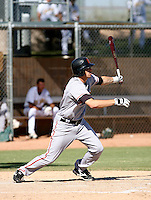 Mike McBryde / San Francisco Giants 2008 Instructional League..Photo by:  Bill Mitchell/Four Seam Images