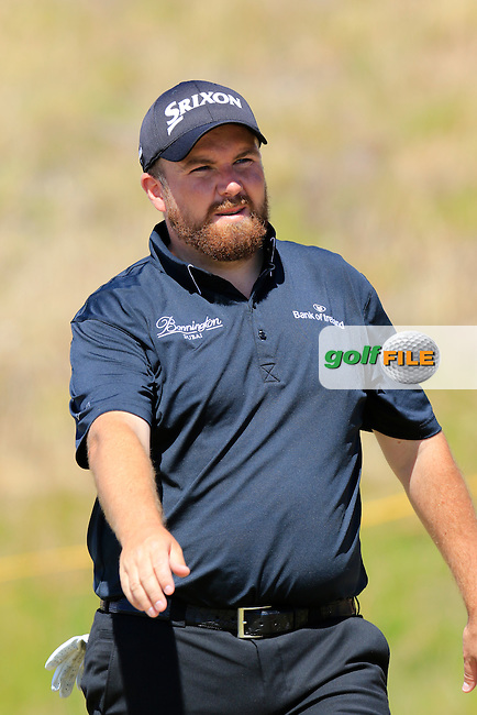 Shane LOWRY (IRL) walks off the par3 9th tee during Saturday's Round 3 of the 2015 U.S. Open 115th National Championship held at Chambers Bay, Seattle, Washington, USA. 6/20/2015.<br /> Picture: Golffile | Eoin Clarke<br /> <br /> <br /> <br /> <br /> All photo usage must carry mandatory copyright credit (&copy; Golffile | Eoin Clarke)