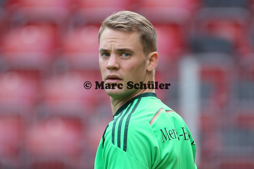 Manuel Neuer (D) - Abschusstraining Nationalmannschaft in Mainz