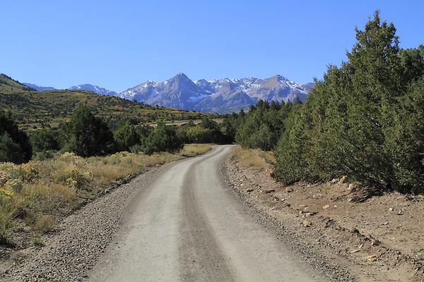 Sneffels Range in the San Juan Mountains, autumn, Colorado.