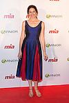 """Cuca Escribano attends the charity Awards """"MIA, CUIDA DE TI"""" in Madrid, Spain. October 29, 2014. (ALTERPHOTOS/Carlos Dafonte)"""