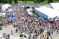Verizon IndyCar Series<br /> Indianapolis 500 Carb Day<br /> Indianapolis Motor Speedway, Indianapolis, IN USA<br /> Friday 26 May 2017<br /> Carb Day Crowds<br /> World Copyright: F. Peirce Williams