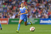 Bridgeview, IL - Saturday August 12, 2017: Sofia Huerta during a regular season National Women's Soccer League (NWSL) match between the Chicago Red Stars and the Portland Thorns FC at Toyota Park. Portland won 3-2.