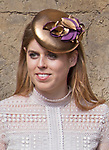 16.04.2017; Windsor,UK: ROYAL LADIES EASTER BONNET - PRINCESS BEATRICE<br /> Members of the Royal Family attended an Easter Service at St George's Chapel, Windsor Castle.<br /> Mandatory Photo Credit: &copy;Francis Dias/NEWSPIX INTERNATIONAL<br /> <br /> IMMEDIATE CONFIRMATION OF USAGE REQUIRED:<br /> Newspix International, 31 Chinnery Hill, Bishop's Stortford, ENGLAND CM23 3PS<br /> Tel:+441279 324672  ; Fax: +441279656877<br /> Mobile:  07775681153<br /> e-mail: info@newspixinternational.co.uk<br /> Usage Implies Acceptance of OUr Terms &amp; Conditions<br /> Please refer to usage terms. All Fees Payable To Newspix International