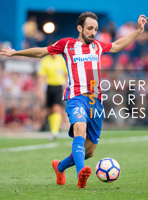 Juanfran of Atletico Madrid in action during their La Liga match between Atletico Madrid and Deportivo de la Coruna at the Vicente Calderon Stadium on 25 September 2016 in Madrid, Spain. Photo by Diego Gonzalez Souto / Power Sport Images