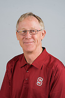 STANFORD, CA - AUGUST 13, 2013 - John Dunning of the Stanford Women's Volleyball team.