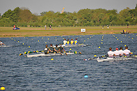 Wallingford Rowing Club Regatta 2011. Dorney..(J18A.4x-).Walton (389).Windsor Boys School - A (390).Peterborough City (391)
