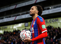 5th January 2020; Selhurst Park, London, England; English FA Cup Football, Crystal Palace versus Derby County; Jairo Riedewald of Crystal Palace with the ball - Strictly Editorial Use Only. No use with unauthorized audio, video, data, fixture lists, club/league logos or 'live' services. Online in-match use limited to 120 images, no video emulation. No use in betting, games or single club/league/player publications