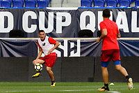 Harrison, NJ - Thursday Aug. 31, 2017: Costa Rica during a training day prior to a FIFA World Cup Qualifier between the United States (USA) and Costa Rica (CRC) at Red Bull Arena.