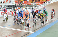 CALI - COLOMBIA - 17-01-2015: Kisten Wild de Holanda gana prueba de Scratch damas del Omnium en el Velodromo Alcides Nieto Patiño, sede de la III Copa Mundo UCI de Pista de Cali 2014-2015  / Kisten Wild of Nederland wins the Scratch Race of the Women´s Omnium at the Alcides Nieto Patiño Velodrome, home of the III Cali Track World Cup 2014-2015 UCI. Photos: VizzorImage / Luis Ramirez / Staff.