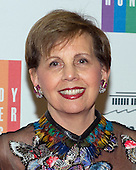 Adrienne Arsht, a member of the Board of Trustees of the John F. Kennedy Center for the Performing Arts, arrives for the formal Artist's Dinner honoring the recipients of the 2014 Kennedy Center Honors hosted by United States Secretary of State John F. Kerry at the U.S. Department of State in Washington, D.C. on Saturday, December 6, 2014. The 2014 honorees are: singer Al Green, actor and filmmaker Tom Hanks, ballerina Patricia McBride, singer-songwriter Sting, and comedienne Lily Tomlin.<br /> Credit: Ron Sachs / Pool via CNP