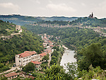 Patriarchate church on top of the hill of the fortress of Tsarevts, Yantra River, Veliko Tarnovo, Bulgaria