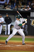 Siena Saints first baseman Joe Drpich (47) during a game against the UCF Knights on February 17, 2017 at UCF Baseball Complex in Orlando, Florida.  UCF defeated Siena 17-6.  (Mike Janes/Four Seam Images)