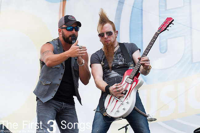 Tyler Farr performs on Day Three of the 2014 CMA Music Festival in Nashville, Tennessee.