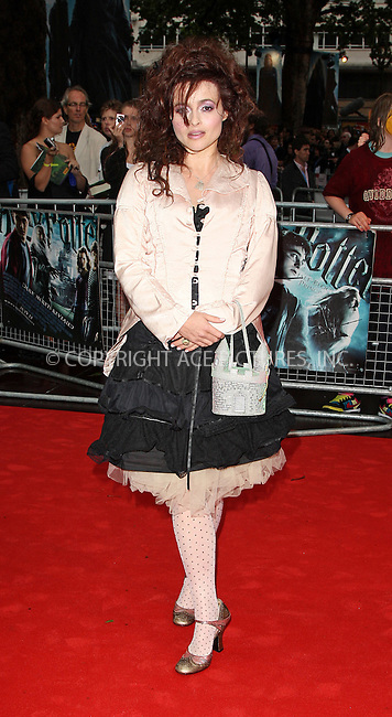 """WWW.ACEPIXS.COM . . . . .  ..... . . . . US SALES ONLY . . . . .....July 7 2009, London....Helena Bonham Carter at the World Premiere of """"Harry Potter And The Half-Blood Prince"""" held at the Empire Leicester Square on July 7 2009 in London....Please byline: FAMOUS-ACE PICTURES... . . . .  ....Ace Pictures, Inc:  ..tel: (212) 243 8787 or (646) 769 0430..e-mail: info@acepixs.com..web: http://www.acepixs.com"""