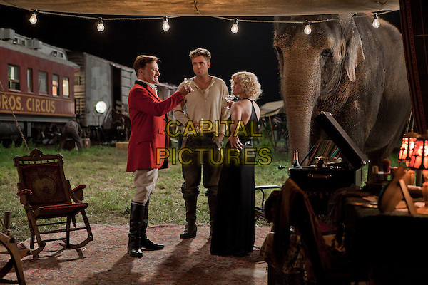 CHRISTOPH WALTZ, ROBERT PATTINSON & REESE WITHERSPOON.in Water for Elephants .rob.*Filmstill - Editorial Use Only*.CAP/PLF.Supplied by Capital Pictures.