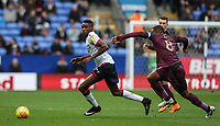Bolton Wanderers' Sammy Ameobi competing with Swansea City's Leroy Fer<br /> <br /> Photographer Andrew Kearns/CameraSport<br /> <br /> The EFL Sky Bet Championship - Bolton Wanderers v Swansea City - Saturday 10th November 2018 - University of Bolton Stadium - Bolton<br /> <br /> World Copyright © 2018 CameraSport. All rights reserved. 43 Linden Ave. Countesthorpe. Leicester. England. LE8 5PG - Tel: +44 (0) 116 277 4147 - admin@camerasport.com - www.camerasport.com