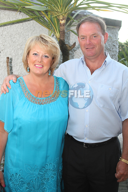 Michelle and Robert Reddan at the Baltray and District Residents Association Gala Dinner Dance in Co.Louth Golf Club...Picture Jenny Matthews/Newsfile.ie