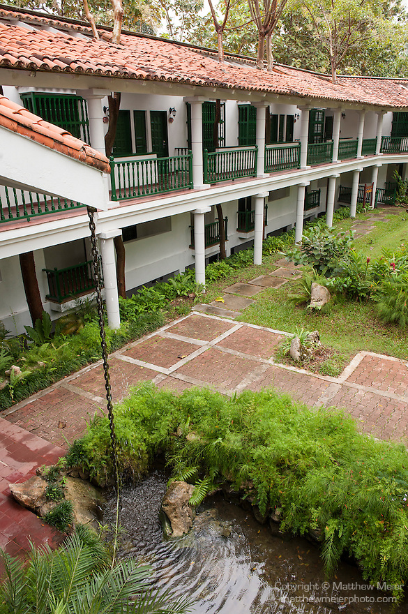 Las Terrazas, Cuba; the Moka Hotel on the grounds of Las Terrazas was named after a former coffee plantation from the area