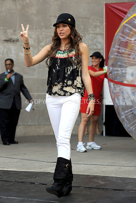 "WWW.ACEPIXS.COM . . . . .....July 25, 2008. New York City.....Singer Miley Cyrus launches the ""Bolt"" Across America fundraiser at the Central Park Bandshell on July 25, 2008 in New York City.  ..  ....Please byline: Kristin Callahan - ACEPIXS.COM..... *** ***..Ace Pictures, Inc:  ..Philip Vaughan (646) 769 0430..e-mail: info@acepixs.com..web: http://www.acepixs.com"