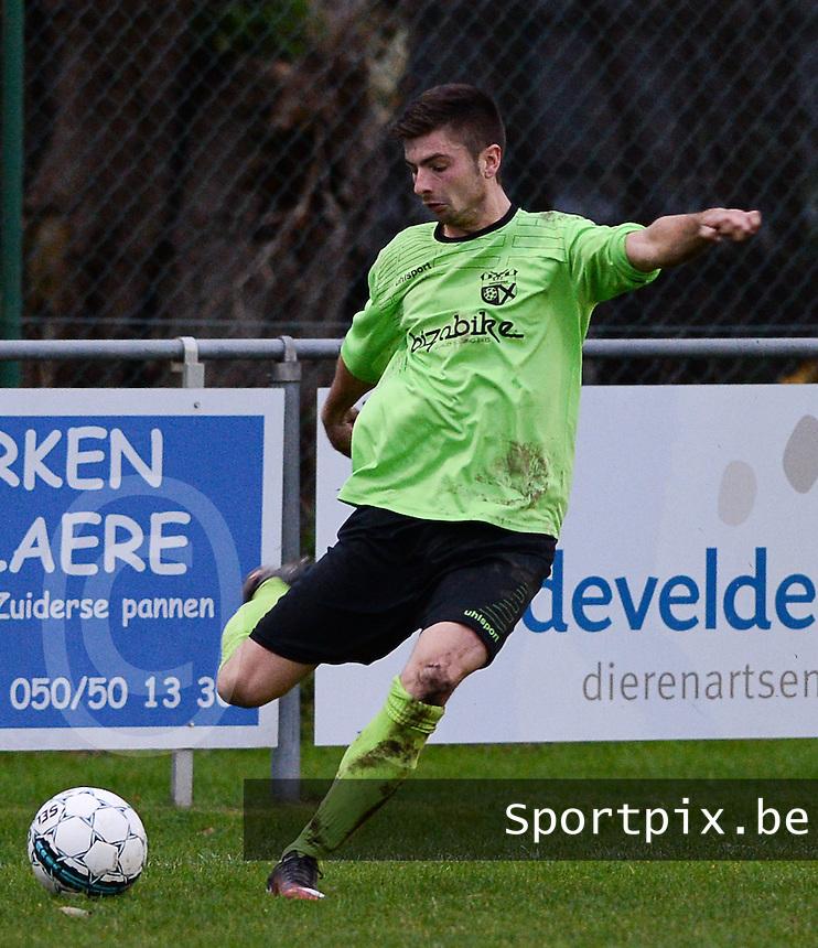 FC Moerkerke  : Maxim Tijtgat <br /> Foto VDB / Bart Vandenbroucke