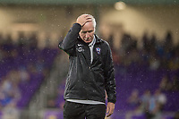 Orlando, FL - Saturday June 03, 2017: Tom Sermanni during a regular season National Women's Soccer League (NWSL) match between the Orlando Pride and the Boston Breakers at Orlando City Stadium.