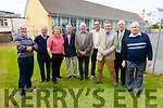 First in and First out the some of the 1965 6th classmates back to the Golden Jubilee Celebrations in the Scoil Mhuire Cahersiveen on Saturday pictured l-r; Sean Martin, Pato O'Neill, Peter Grogan, Tom Dennehy, Con McCarthy, Tom Curran, Con O'Shea, James O'Sullivan & Donal O'Sullivan.