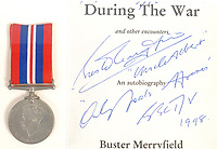 During the war...  A war medal that Uncle Albert wore with pride throughout Only Fools & Horses