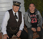 Conductor Dick Dreiling and Harvey Nobles during Pumpkin Palooza in Sparks, Nevada on Sunday, Oct. 22, 2017.