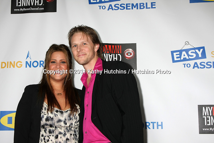 """LOS ANGELES - OCT 10:  Guest arriving at the Web-series """"EASY TO ASSEMBLE""""  FINDING NORTH webisode Premiere at the Egyptian Theatre on October 10, 2011 in Los Angeles, CA"""