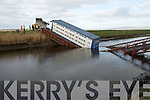 the Bridge that collasped at Ballinagar Road, Lixnaw, on Thursday,