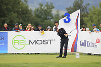 Stuart Manley (WAL) on the 3rd tee during Round 4 of the D+D Real Czech Masters at the Albatross Golf Resort, Prague, Czech Rep. 03/09/2017<br /> Picture: Golffile | Thos Caffrey<br /> <br /> <br /> All photo usage must carry mandatory copyright credit     (&copy; Golffile | Thos Caffrey)