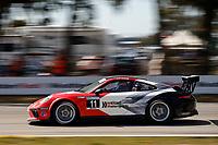 2017 Porsche GT3 Cup USA<br /> Sebring International Raceway, Sebring, FL USA<br /> Friday 17 March 2017<br /> 11, Phil Bloom, GT3P, USA, 2017 Porsche 991<br /> World Copyright: Jake Galstad/LAT Images<br /> ref: Digital Image lat-galstad-SIR-0317-14692