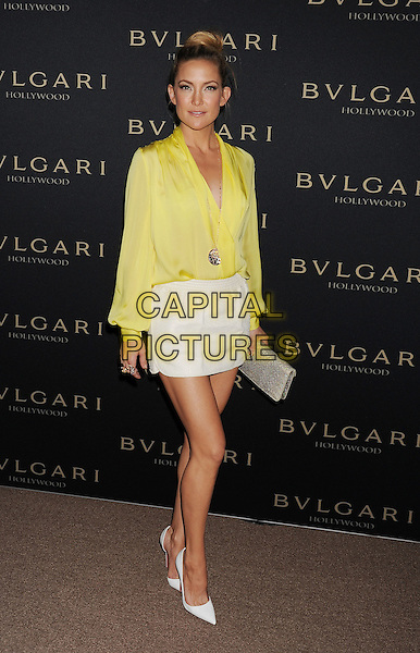 WEST HOLLYWOOD, CA- FEBRUARY 25: Actress Kate Hudson arrives at the BVLGARI 'Decades Of Glamour' Oscar Party Hosted By Naomi Watts at Soho House on February 25, 2014 in West Hollywood, California.<br /> CAP/ROT/TM<br /> &copy;Tony Michaels/Roth Stock/Capital Pictures