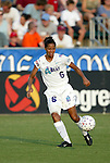 4 July 2003: Sharolta Nonen of Canada. The Carolina Courage defeated the Atlanta Beat 3-2 at SAS Stadium in Cary, NC in a regular season WUSA game.