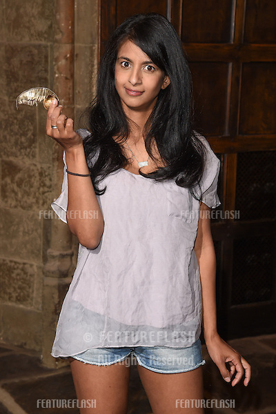 Konnie Huq arriving for the Harry Potter Summer Screenings Preview Evening at the Warner Bros. Studio, Leavesden, Watford. 01/07/2014 Picture by: Steve Vas / Featureflash