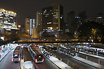 Terminal de onibus Bandeira. Praça da Bandeira. Sao Paulo. 2016. Foto de Marcia Minillo.