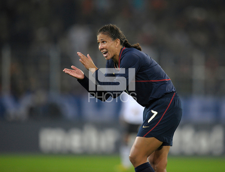 Shannon Boxx. US Women's National Team defeated Germany 1-0 at Impuls Arena in Augsburg, Germany on October 29, 2009.