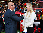 England international Millie Bright interviewed pitch side  during the Championship League match at Bramall Lane Stadium, Sheffield. Picture date 19th August 2017. Picture credit should read: Simon Bellis/Sportimage