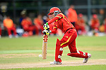 Zou Miao of China during their ICC 2016 Women's World Cup Asia Qualifier match between China and Nepal on 11 October 2016 at the Kowloon Cricket Club in Hong Kong, China. Photo by Marcio Machado / Power Sport Images