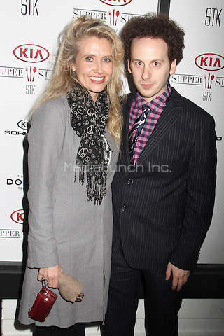 PARK CITY, UT - JANUARY 24: Tess Hunt, Josh Sussman at The Overnight and Tangerine & Animals  cast party hosted by Kia Supper Suite By STK during The 2015 Sundance Film Festival at Handle Restaurant and Bar in Park City, Utah on January 24, 2015. Credit: David Edwards/DailyCeleb/MediaPunch